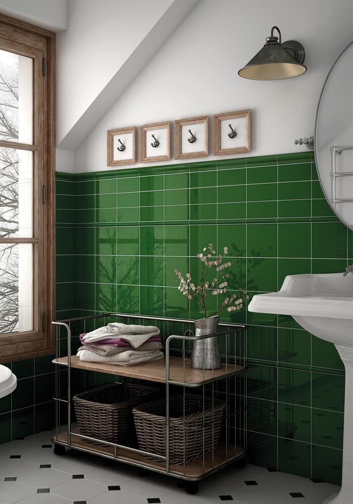 Cream Tiles Bathroom